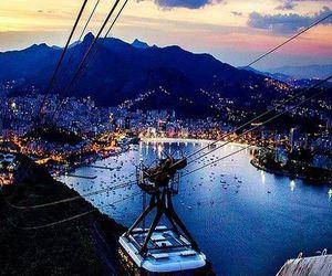 city, rio de janeiro, and sky image
