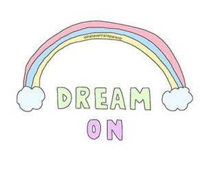 overlay, rainbow, and Dream image