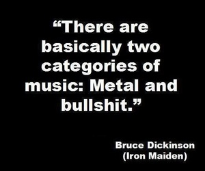 metal, iron maiden, and quotes image