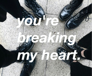 grunge and heart image