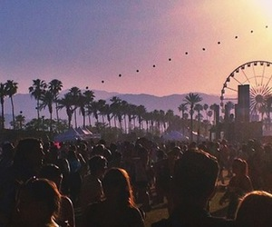 coachella, music, and party image