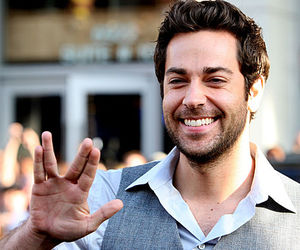 smile, spock, and zachary levi image
