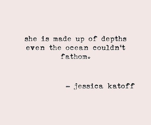 quote, deep, and she image
