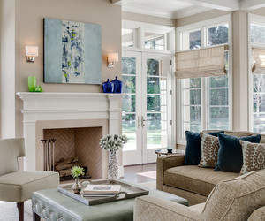 house, living room, and design image