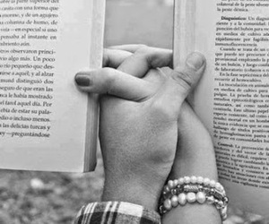 books, reading, and black and white image
