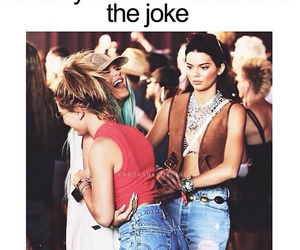 kylie jenner, funny, and kendall jenner image