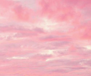 clouds, pink, and ~grrr~ ♥ image