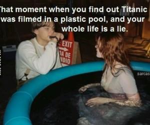 movie, pool, and titanic image