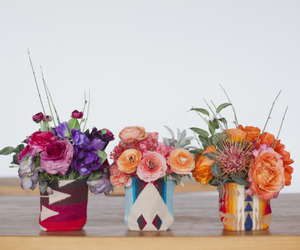 flowers, wedding, and interior image