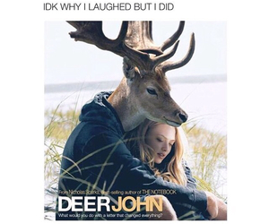 funny and deer john image