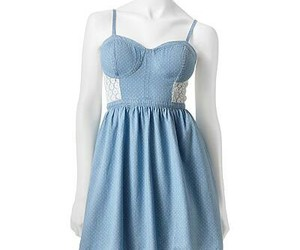 blue, chic, and lace image