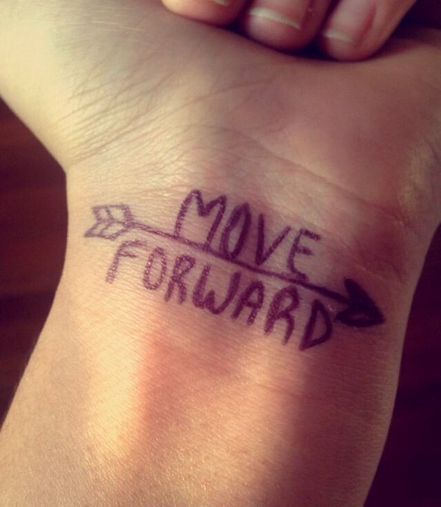 Keep Moving Forward Shared By On We Heart It