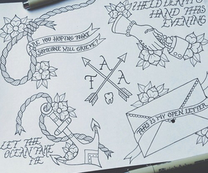 drawing, tattoo, and the amity affliction image