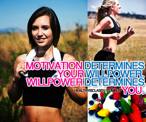 determination, fitness, and healthy image