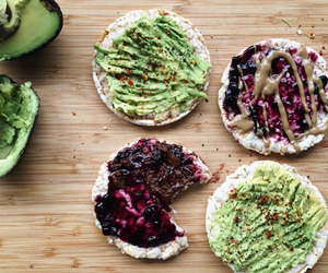 healthy, food, and avocado image