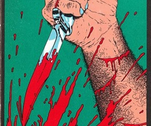 blood and knife image