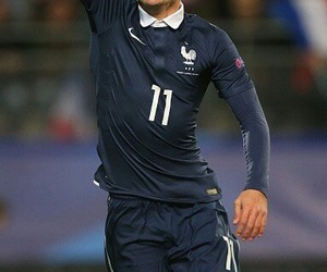 france, soccer, and griezman image