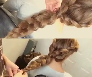 braid, three, and two image