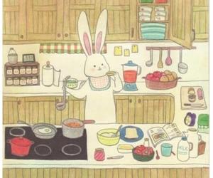 anime, art, and bunny image