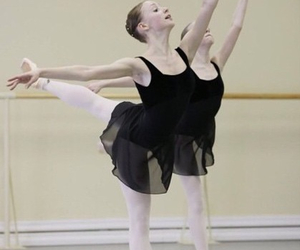 art, ballet, and pointe image