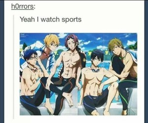 anime, sport, and free! image