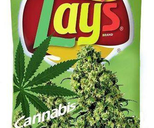 chips, weed, and lays image