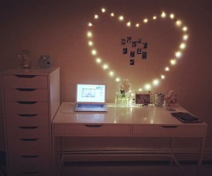 heart, room, and cute image