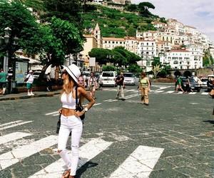 girl, fashion, and travel image
