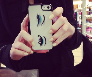iphone, eyes, and case image