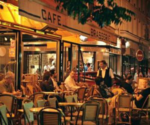 cafe, dining, and food image
