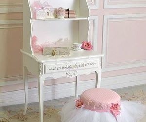 decor, pink, and room image