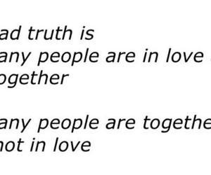love, sad, and truth image