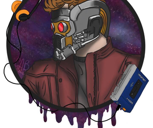 fan art, my art, and guardians of the galaxy image