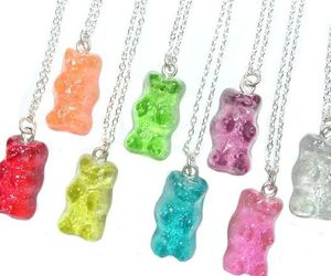 gummy bears and necklace image