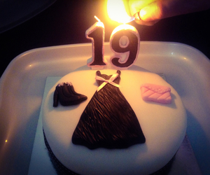 19th, birthday, and cake image