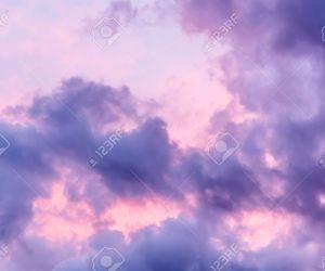 clouds, purple, and nice image