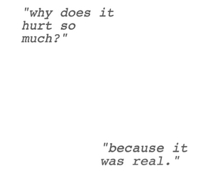 quotes, hurt, and real image