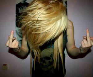 blond, fuck, and hair image