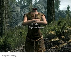 fun, tumblr, and skyrim image