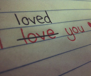 love, loved, and heart image