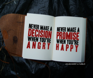 angry, happy, and quote image