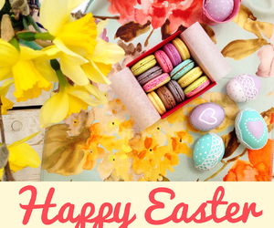 color, happy easter, and easter image