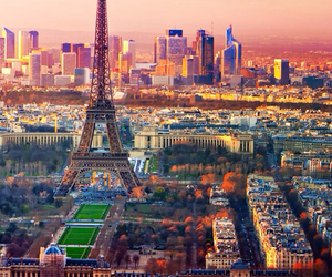 beautiful, city view, and eiffel tower image
