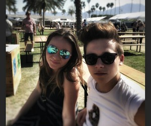 coachella, brooklyn beckham, and libby isted image
