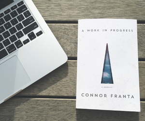book, connor franta, and apple image