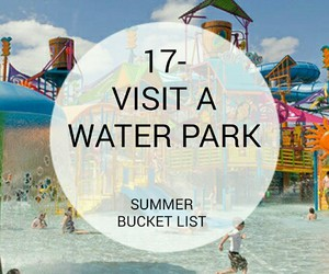 bucket, water park, and list image