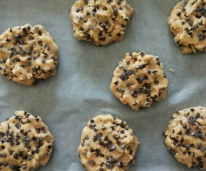 butter, chocolate, and Cookies image