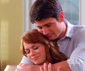 couple, one tree hill, and naley image
