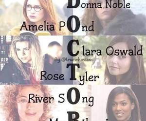 doctor who, amelia pond, and river song image