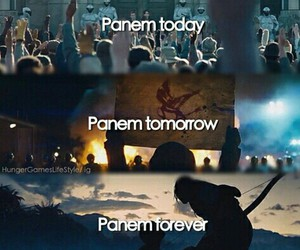 hunger games, today, and tomorrow image